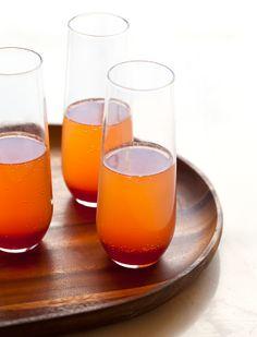 blood orange champagne punch.