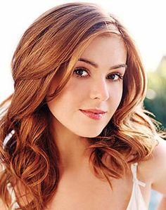 isla fisher....love her hair!