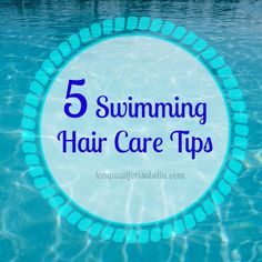 swimming hair care tips hair care tips for beach and pool swimming