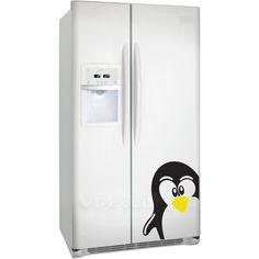 Penguin fridge decal
