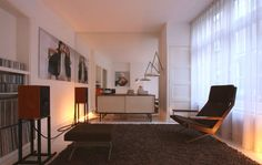 renovated netherlands apartment continued... 60s vintage chic