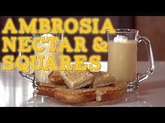 AMBROSIA NECTAR & SQUARES, Percy Jackson (it won't blow you up if athena's not your mom!)