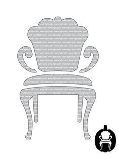 Elegant Chair - Advanced Halloween Pumpkin-Carving Templates on HGTV