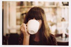 .. girl fashion, drink, coffee cups, new fashion, zooey deschanel, tea, cup of coffee, bang, mug shots