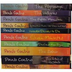 Paolo Coelho    With his gift many have found help orienting themselves in their lives' paths.  These are the books to buy in doubles; one to keep for life and one to pass on to the next person.