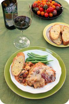 vegan slow cooker lasagna