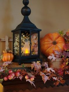 Mantel for Fall