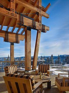 Yellowstone Club Residence in Yellowstone, Montana by Krannitz Gehl Architects