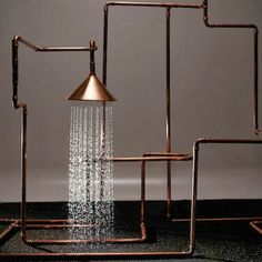 Shower system the (many times over) award winning Swedish design team Front.