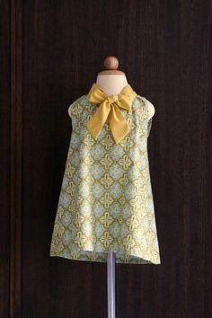 cute girl dress pattern