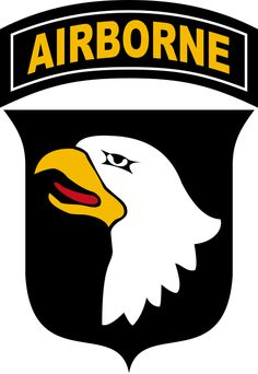 Patch of the United States Army's 101st Airborne Division.