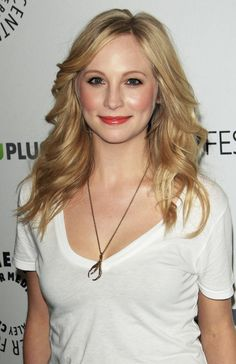 Candice Accola, Caroline Forbes from The Vampire Diaries <3