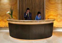 Concise Reception Counter  #reception #reception_desk,  #reception_design, #reception_area reception desks,  reception design, reception area