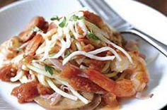 Shrimp, Sausage, & Ham pasta