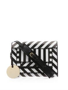 Striped leather cross-body bag | Pierre Hardy | MATCHESFASHION...