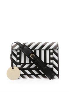 Striped leather cross-body bag   Pierre Hardy   MATCHESFASHION...