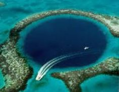 the Blue Hole - Belize
