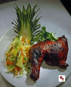 """Ka Moa"" (Island-style Barbecue Chicken). Looks awesome!!"