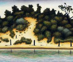 """Reg Mombassa- """"Scrub and Sand Hill"""""""