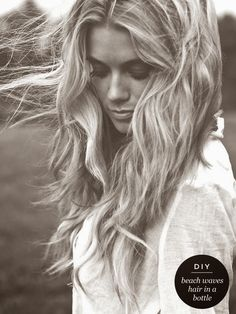 the cinderella project: because every girl deserves a happily ever after: DIY Beachy Waves