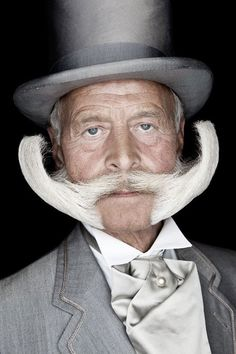 """In 2009, Matt Rainwaters portrayed every contestant of a facial hair contest in his book """"Beard."""""""