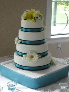 Teal Cake @April Riggins