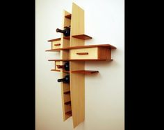 Wine Rack by Marrs Woodworking at CustomMade.com