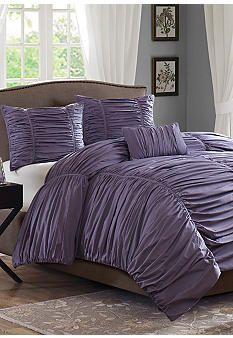 Madison Park Delancey Plum 4pc Comforter Set #belk #bedding