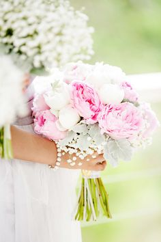 Peony Bouquet | See the wedding on #SMP: http://www.stylemepretty.com/australia-weddings/2013/12/24/maleny-manor-wedding/