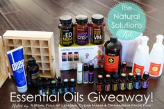 HUGE doTERRA Essential Oils Giveaway on the blog this week! | A Bowl Full of Lemons