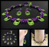 Monster Energy Can Tabs- Necklace & Earring Set