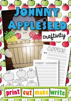 Love this Johnny Appleseed craftivity$