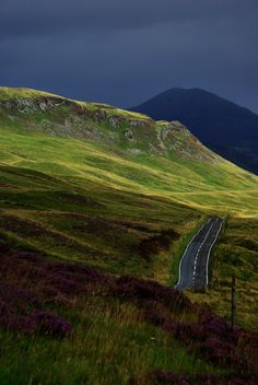 On the road to Cairngorm