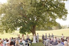 What a perfect ceremony. Photography by Rebecca Wood / rebeccawood.ca