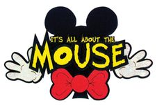 Paper Wizard - Mousin Around Collection - Disney - Die Cuts - All About the Mouse at Scrapbook.com $5.99