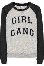 Zoe KarssenGirl Gang jersey sweatshirt