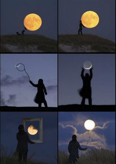 the moon according to Laurent Laveder