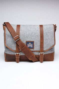 The British Belt Company Pudsey Messenger Bag