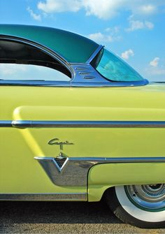 1954 lincoln, vintage cars, dream, color, sport cars, green, lime, yellow, lincoln capri