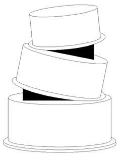 tilted with wedges 3 tier By Doug on CakeCentral.com