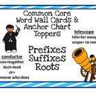 Create a Prefix/Suffix word wall!  Roots created over 75% of our language and are very powerful for at risk readers as well as increasing the vocab...