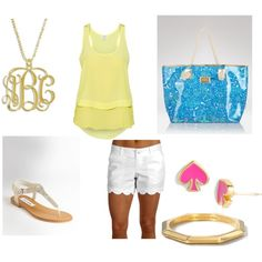 little bit of lilly, created by savannaf on Polyvore