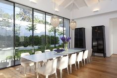 Architecture Design, Find My House Long Glass Windows: Find my House in Ramat Hasharon by Levy Chamizer Architects