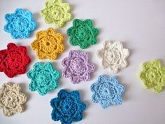 Darling Crochet Flower Pattern