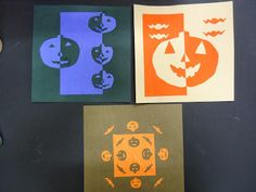 Mini Matisse: Balanced Notans-- students use Notans to create symmetrical, asymmetrical, and radial balance.