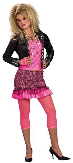 80's Costumes 80's Groupie Women's Costume