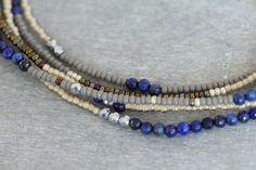 Delicate Beaded Wrap Bracelet Charlotte Cut by GummyRubyJewelry, $42.00