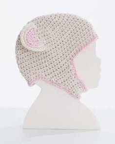 Bernat: Pattern Detail - Cottontots - Crochet Bear Hat