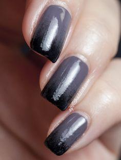 Bourjois Fashion gris-gris & Black Gradient | A Polish Addict