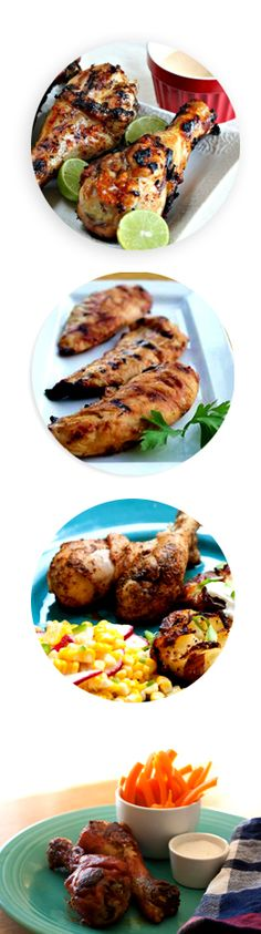 {3 Chicken Drumstick Recipes} Plus a tip for ensuring you get deliciously crispy skin.